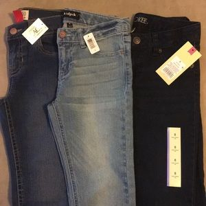 Other - Lot of 3 Girls Size 8 Skinny Jeans